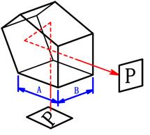 ペンタプリズム図